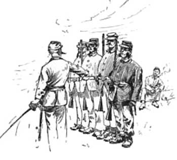 the conscripts 92nd Infantry Division one pleasant morning at 10 o clock i took the lot out for pany drill though in number there were more than were required for a regulation pany